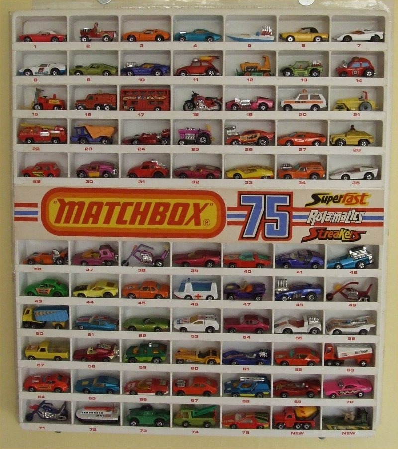 My Collect Of Matchbox From 1968 To 1983